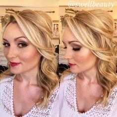 Bridal Look - Hair + Makeup by DEE + Asst PHAITHE / www.swellbeauty.com