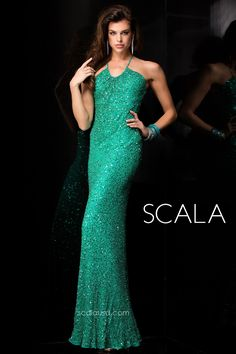 5a33c0febc SCALA style 48447 Jade.  Prom2K15  Spring2015  Prom2015  Dress  Gown  . Sequin  Prom ...