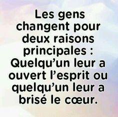 Les gens changent