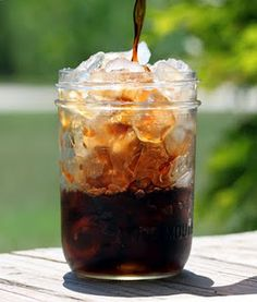 Recipe for a batch homemade ice coffee concentrate that rivals those $6.00 drinks that will keep in the fridge for a month.