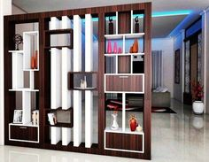 41+ The Ultimate Handbook to Innovative Room Dividers - decoryourhomes.com Room Partition Wall, Room Divider Shelves, Living Room Partition Design, Living Room Divider, Living Room Decor, Room Partitions, Wooden Partitions, Room Divider Walls, Wooden Partition Design