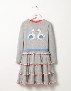 Frilly Knitted Dress Boden