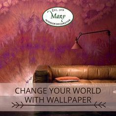 Wallpapers are relatively cheap and affordable for all; you can change them according to your current tastes. You get a new look every time you change the wallpaper for your room. Ask Nikos about the range of wallpaper finishes that Mary Interior Decorator has available. Visit our Showroom at Shop 6A Illovo Square Shopping Centre or call 011 268 0329 / e-mail nikos@marysinteriors.co.za. #wallpaper #unique #marysinteriors #furniture #surroundyourselfincomfort #interiordesign #decor #design Interior Decorating, Interior Design, Shopping Center, Of Wallpaper, You Changed, Showroom, Centre, Mary, Range