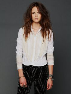 Free People Victorian Blouse, I love this !