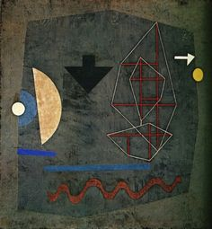 Possibilites of the Sea - Paul Klee, 1932