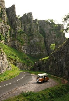 Cheddar Gorge Somerset. This is such an impressive gorge, it's pretty, it goes on for quite a distance. But if you've ever been to Yosemite it's a bit of a come-down!