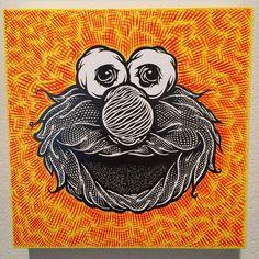 """ Artist: @markdeanveca  #art #artist #artbotic #elmo"" Photo taken by @artbotic on Instagram, pinned via the InstaPin iOS App! http://www.instapinapp.com (03/29/2015)"