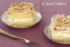 tortine con ricotta e mandorle tostate
