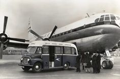 early airport bus