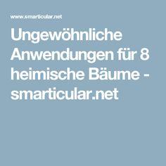 Ungewöhnliche Anwendungen für 8 heimische Bäume - smarticular.net