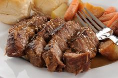 Best Slow Cooker Roast EVER