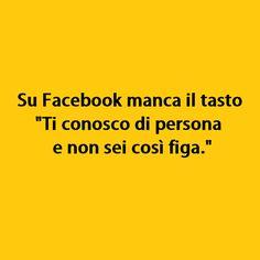 Su Facebook manca il tasto