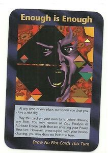 Illuminati Card Game - Enough is Enough