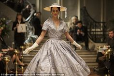 When murder was in fashion: Post-war Paris, couture dresses and skulduggery. Amazon Prime's new thriller The Collection is as glossy as it is grisly | Daily Mail Online
