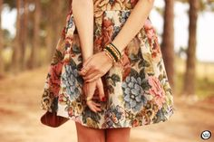 floral dress  FashionCoolture