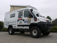 Custom 4x4 Motorhomes | IVECO 4x4 Doka Custom-Campers