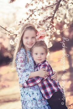 Almond Orchards (Central California Bakersfield Child Kid Family Photographer)