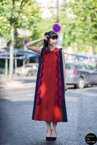 STYLE DU MONDE / Haute Couture Fall 2014 Street Style: Leaf Greener  // #Fashion, #FashionBlog, #FashionBlogger, #Ootd, #OutfitOfTheDay, #StreetStyle, #Style