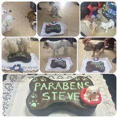 #pawty #barkday #pupcake #dogbirthday Festas de Aniversário - ninamaria.pt