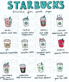 Starbucks Horoscope