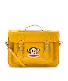 We're in LOVE with this yellow Paul Frank satchel!