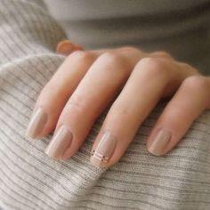 Simple short nail art designs ideas for 2018 - best trend fashion - Nageldesign - Nail Art - Nagellack - Nail Polish - Nailart - Nails Neutral Nails, Nude Nails, Gel Nails, Toenails, Nail Polishes, Simple Nail Designs, Nail Art Designs, Nails Design, Makeup Designs