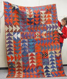 Marketplace india quilt-- pattern from the purl bee | Flickr - Photo Sharing!