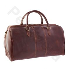 Pellevera,borse da viaggio,Toronto,borsa in pelle,a mano e tracolla,con manici,borsone.