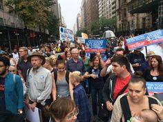 Dr. James Hansen with CCL in NYC at People's Climate March