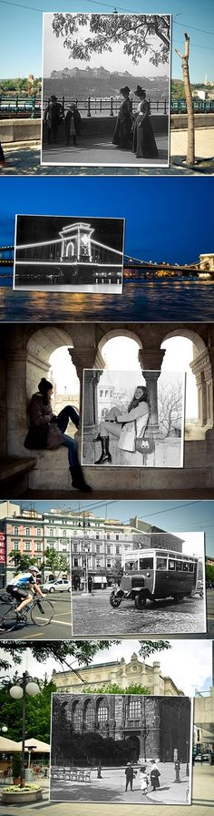 Budapest Then and Now