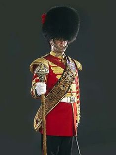 Troops, Soldiers, Queens Guard, British Uniforms, British Armed Forces, Drum Major, British Things, Royal Guard, Military Modelling