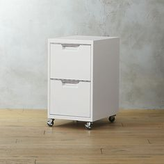 TPS white 2-drawer filing cabinet (in white or black)