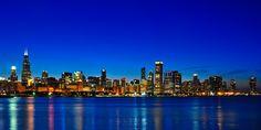 Unbelievable Chicago skyline.