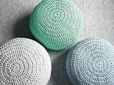 Light Mint Ottoman Pouf- Light Mint Footstool Crochet Pouf - Mint Nursery Decor - Living Room Knit Ottoman Poufs - Furniture by LoopingHome on Etsy https://www.etsy.com/listing/258072384/light-mint-ottoman-pouf-light-mint