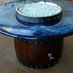 Sonoma County Wine Barrel Fire Pit
