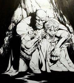 Batman and Joker by Greg Capullo Comic Book Artists, Comic Book Characters, Comic Artist, Comic Books Art, Greg Capullo, Joker Comic, Batman Comics, Batman And Superman, Joker Batman