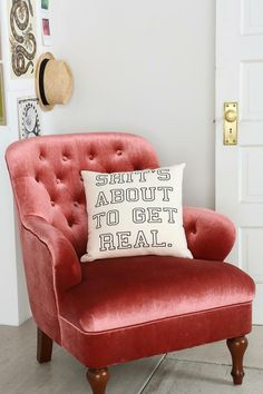 About 2 Get Real PIllow #urbanoutfitters