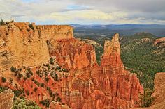 Bryce Canyon 5 - Sheep Creek Swamp Point by Allen Beatty