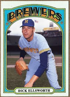 WHEN TOPPS HAD (BASE)BALLS!: NOT REALLY MISSING IN ACTION- 1972 DICK ELLSWORTH ...