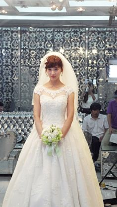 [웨딩드레스 사진] 스타가 사랑하는 스포엔샤 웨딩드레스 사진으로 만나보기 : 네이버 블로그