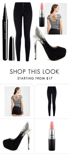 """""""Untitled #1343"""" by perbhaatkhowaja on Polyvore featuring Aéropostale, ALDO, MAC Cosmetics, Marc Jacobs, women's clothing, women, female, woman, misses and juniors"""