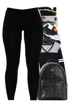 """""""Thank for 2.9k!!"""" by trillestqueen ❤ liked on Polyvore featuring NIKE and MCM"""
