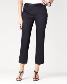 Black ankle pant from CC