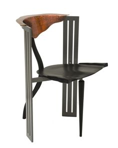 "Borek Šípek (Czech, b. 1949), manufactured by Vitra AG, ""Ota Tanek armchair,"" 1988; Indianapolis Museum of Art, The Liliane and David M. Stewart Collection, 2008.228 © Borek Šípek"