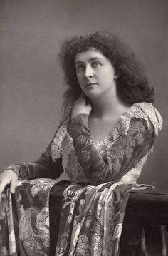 "Emma Eames. 1865-1952. American lyric soprano. Here she's posed as Juliet from Gounod's ""Roméo et Juliette"". She made her professional operatic debut in 1889 at the Paris Opera in this role"