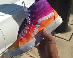 sneakers adidas for women Vans Sneakers, Tenis Vans, Sneakers Mode, Vans Sk8, Vans Shoes Fashion, Custom Vans Shoes, Cute Vans, Aesthetic Shoes, Hype Shoes