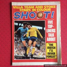 Choose which issues you need 1970/'s SHOOT  Vintage Football Magazine