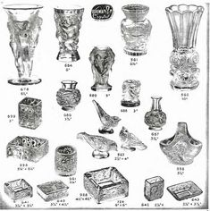 Weil Ceramics & Glass Inc. Catalog For Barolac Sculpture Glass - Czech Bohemian Glass That Is Often Found With Fake or Forged R. Lalique France Signatures: Page 2 Czech Glass, Catalog, Mid Century, Bohemian, Ceramics, Sculpture, Personalized Items, France, Elegant
