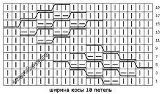 схема узора 584 2/2 http://avercheva.ru/?p=10117