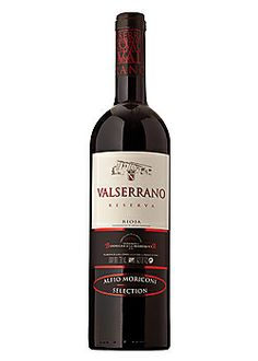Valserrano Rioja Reserva 2005...The last glass was amazing...just needed ample air or another five years in the cellar....need to get again and decant for two days or so.....very aromatic..vinnamon..fruit..so nice